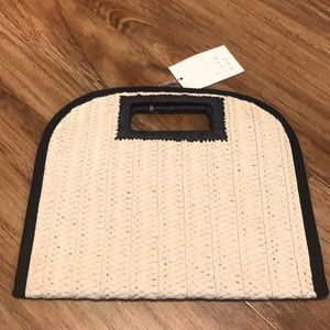 A New Day Straw Bag NWT